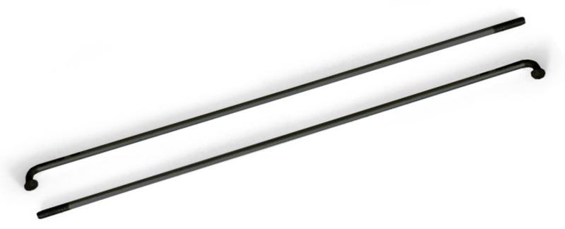 Drôt 2x278 mm nerez čierny