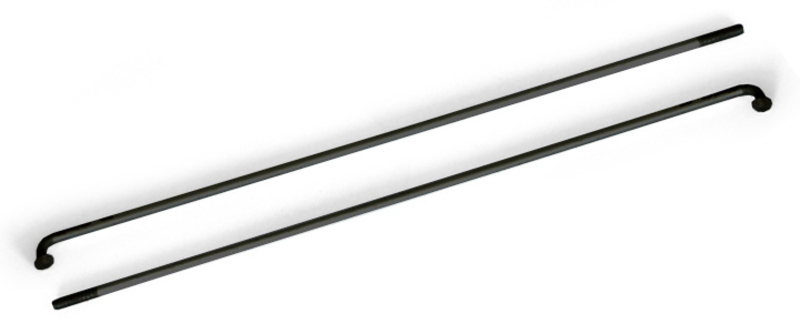 Drôt 2x261 mm nerez čierny