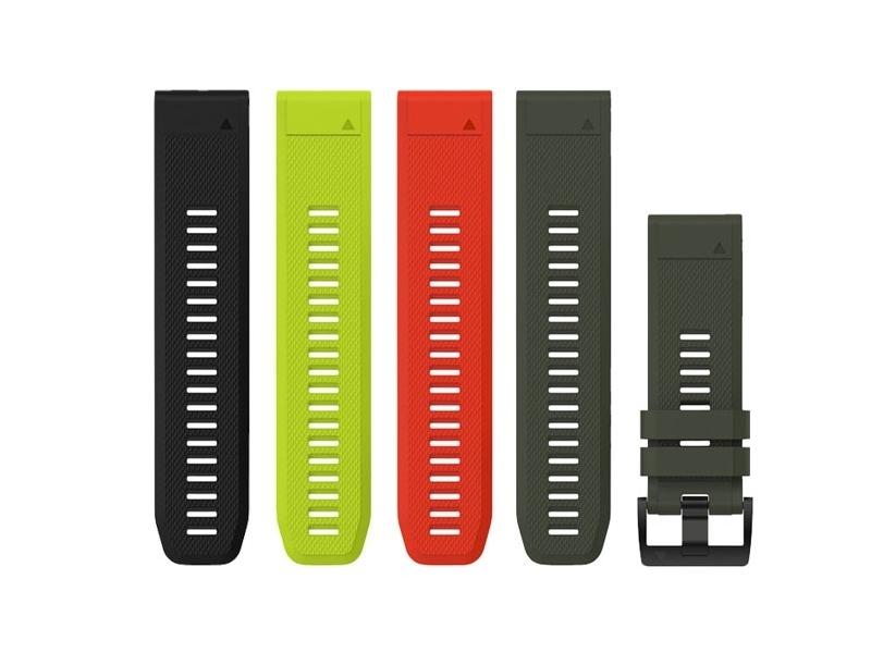 Garmin QuickFit 26 řemínky silikonové fenix 5X