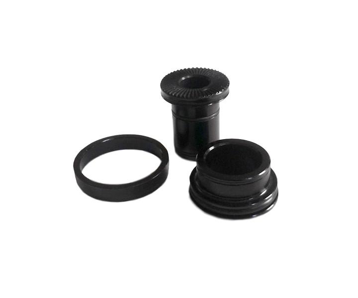 Prachovky (redukcie) QR9mm pre Novatec D101SB