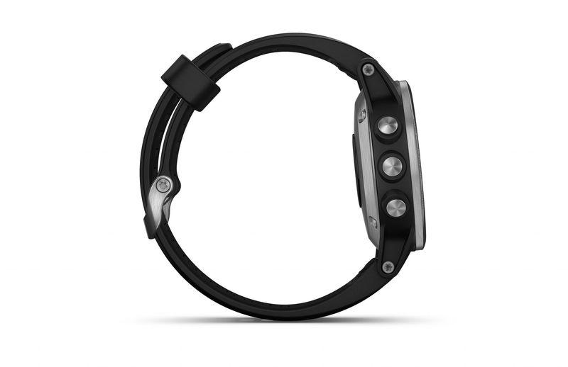 Garmin fénix 5S Plus Silver + Black Band