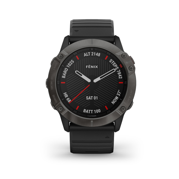 Garmin fénix 6X PRO Black + Black band