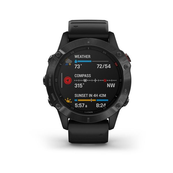 Garmin fénix 6 PRO Black + Black band