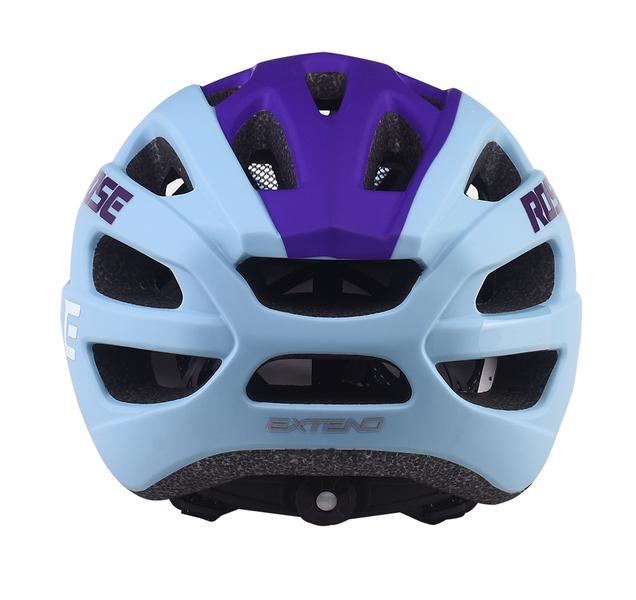 Cyklistická prilba Extend ROSE light blue-night violet, S/M (55-58cm) matt