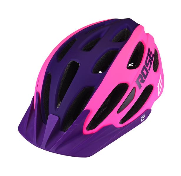 Cyklistická přilba Extend ROSE pink-night violet, M/L (58-62 cm) matt