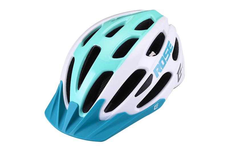 Cyklistická prilba Extend ROSE white-green, S/M (55-58cm) shine