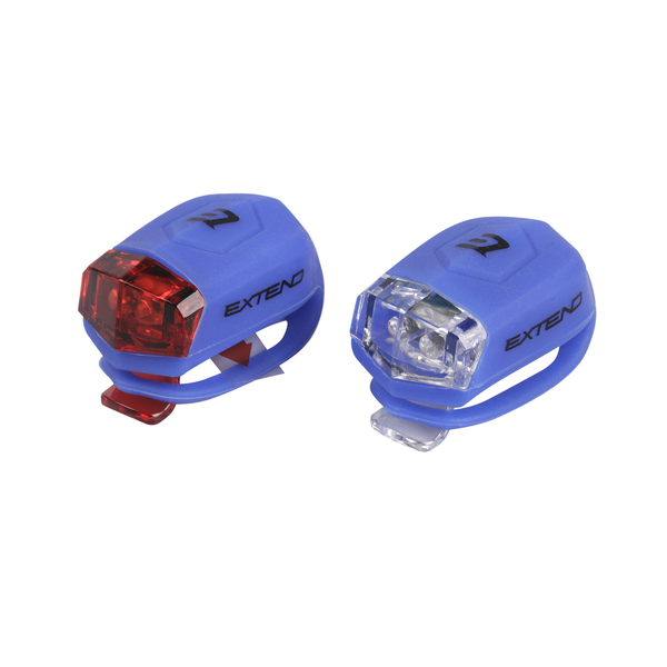 Sada bezpečnostného osvetlenia Extend FROGGIES  - blue