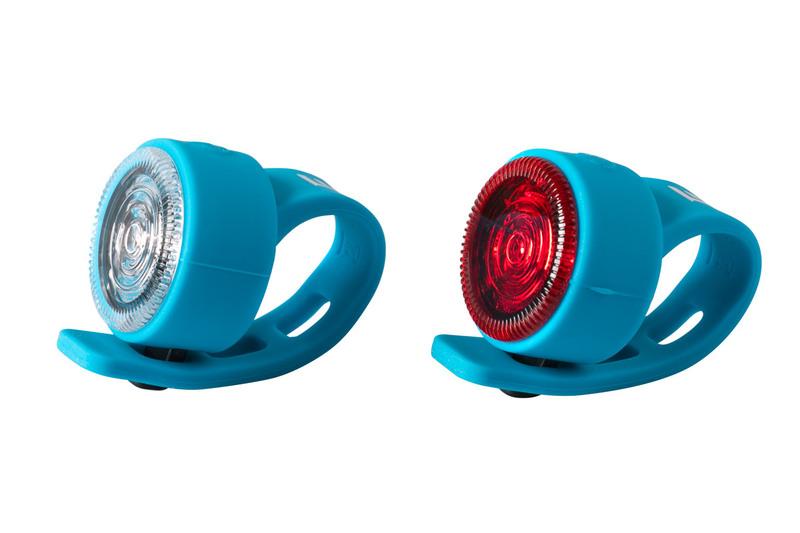 Sada bezpečnostného osvetlenia Extend FLOPPY, bledo modrá