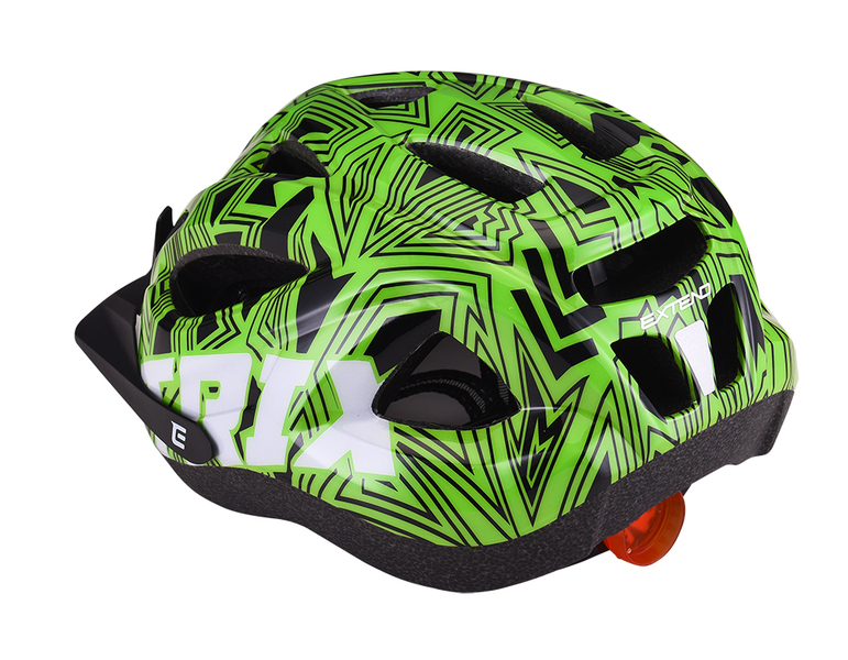 Prilba Extend TRIX labirint green XS/S (48-52 cm), shine
