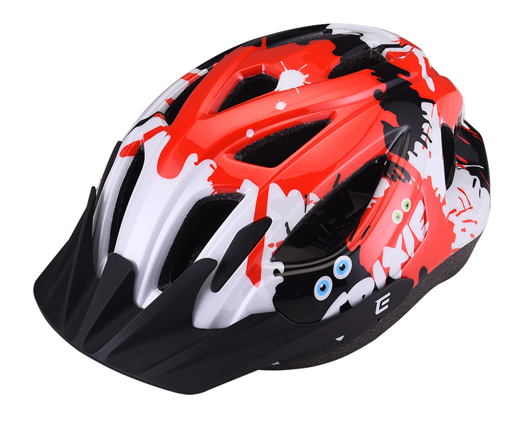 Prilba Extend TRIXIE mystic red-black S/M (52-56 cm), shine