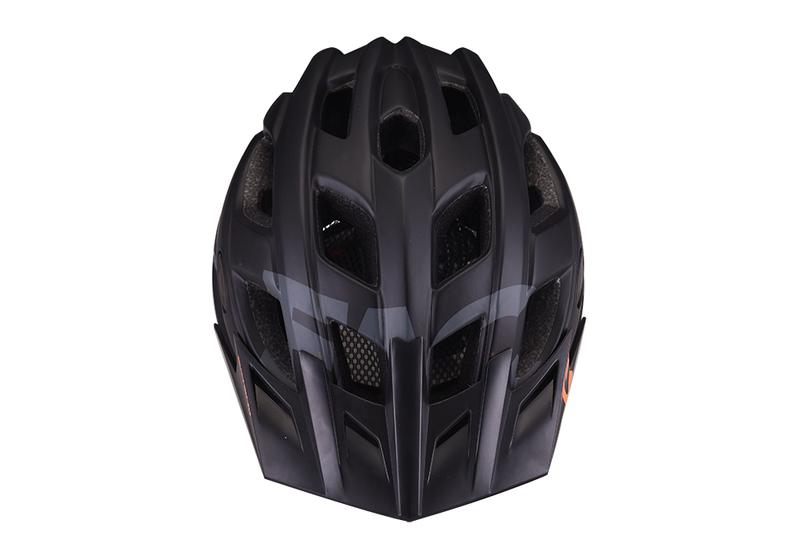 Prilba Extend FACTOR black-dark grey M/L (58-61cm) matt