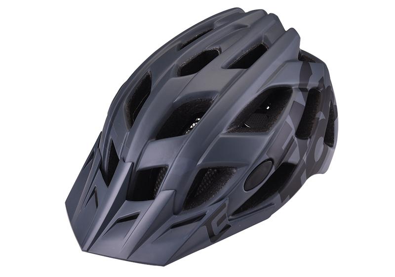 Prilba Extend FACTOR grey-black S/M (55-58cm) matt