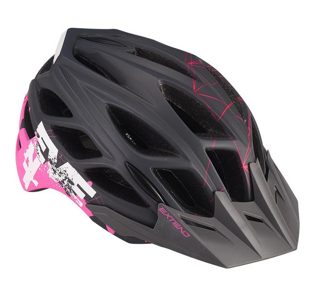 Prilba Extend EVENT grey-pink, M/L (58-61cm) shine