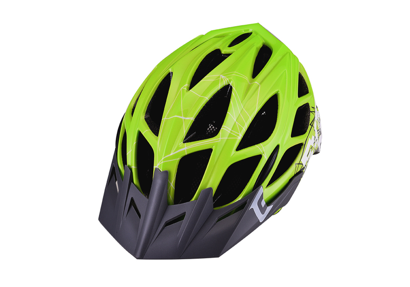 Prilba Extend EVENT green-white, S/M (55-58cm) shine