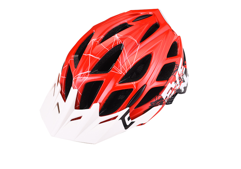Přilba Extend EVENT red-white, S/M (55-58 cm) shine