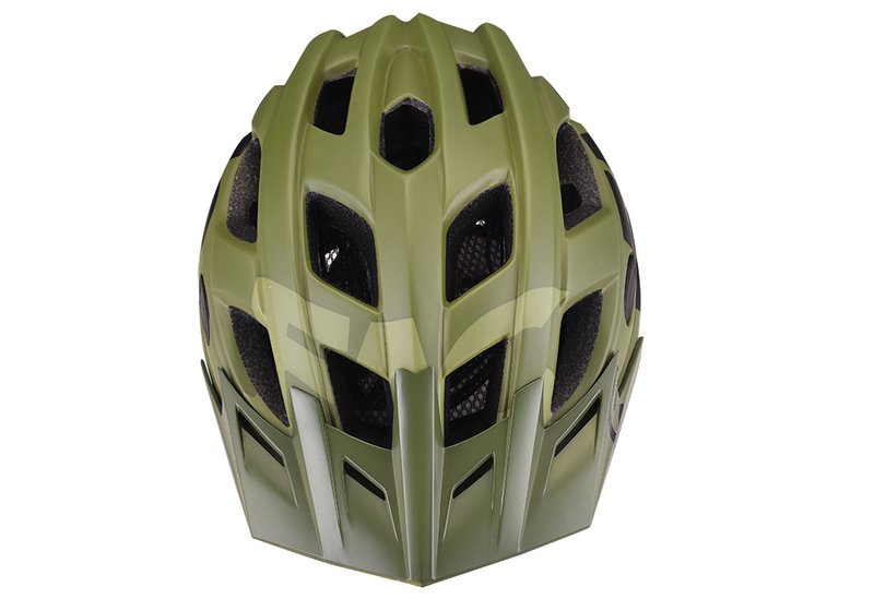 Prilba Extend FACTOR olive-black M/L (58-61cm) matt