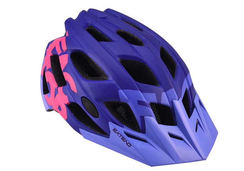 Prilba Extend FACTOR violet-pink S/M (55-58cm) matt