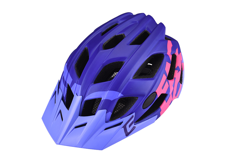 Prilba Extend FACTOR violet-pink M/L (58-61cm) matt