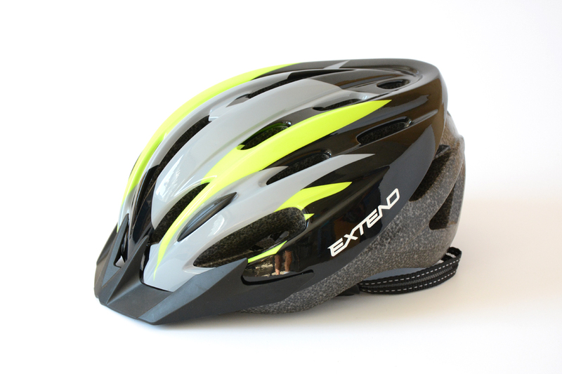 Prilba Extend ELEMENT flamy lime green M/L (58-61cm)