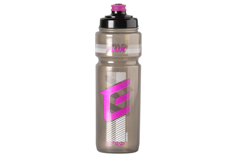 Fľaša Extend FLUX, 700 ml smoke black-magenta