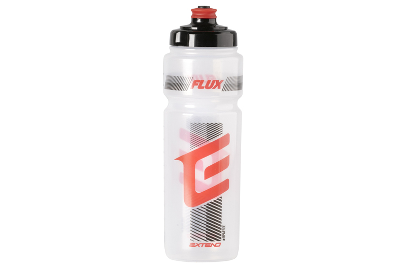 Fľaša Extend FLUX, 700 ml transparent white-red