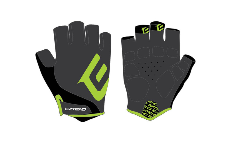 Rukavice pánske Extend GRISP black-lime L