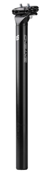 Sedlovka Extend ELITE II Alloy 27.2x350mm lesklá černá