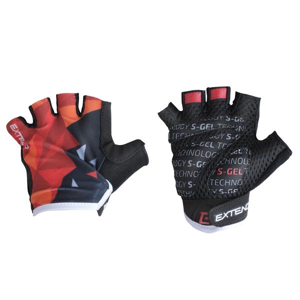 Rukavice dětské Extend WEBBI červený-oranžový krystal 8-10r.