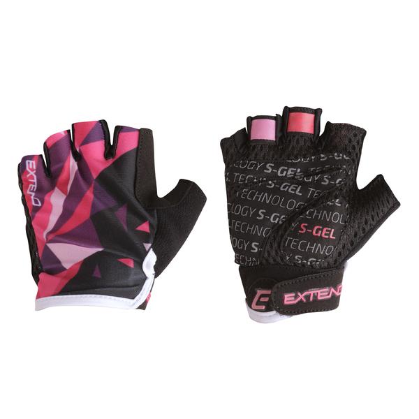 Rukavice dětské Extend WEBBI růžovo-fialový krystal 6-8r.