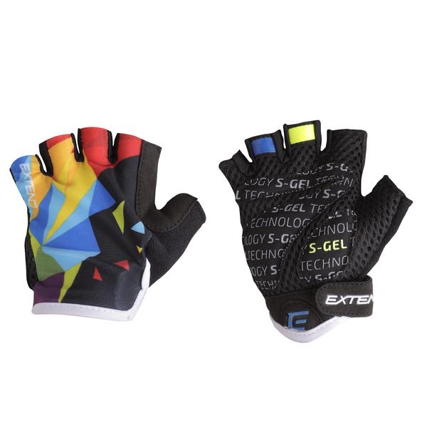 Rukavice dětské Extend WEBBI barevný krystal 8-10r.