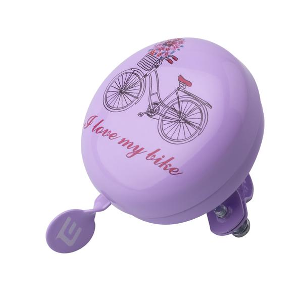 Zvonček Extend TILONG purple bike, OEM