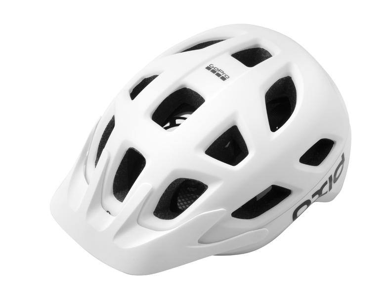 Prilba Extend OXID, S/M (55-58 cm), white, matt/shine, MTB