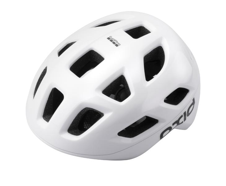 Prilba Extend OXID, white, M/L (58-61 cm) shine/matt, road