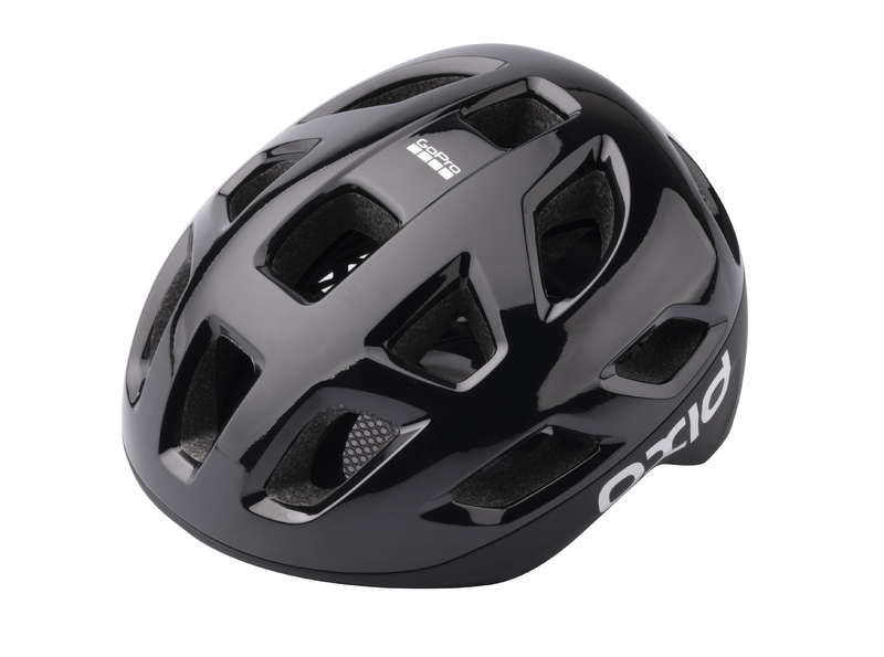 Prilba Extend OXID, black, S/M (55-58 cm) shine/matt, road