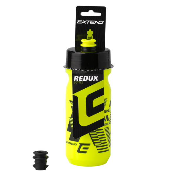 Fľaša Extend REDUX, yellow fluo/black, 600 ml