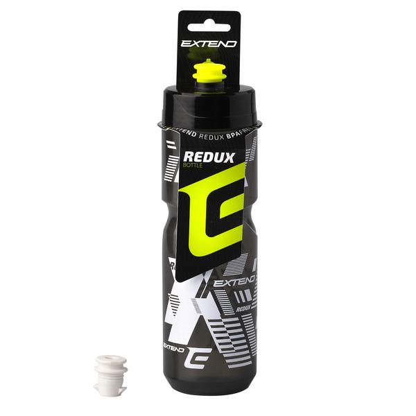 Fľaša Extend REDUX, clear black/black, 800 ml