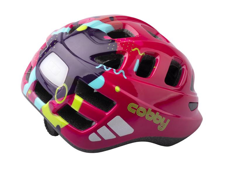 Prilba Extend COBBY, multi-pink, XS/S (48-50 cm), shine