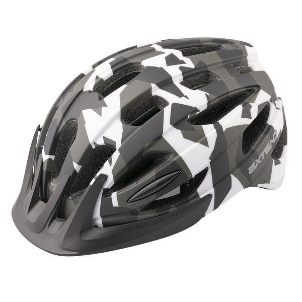 Prilba Extend COURAGE, S/M (51-55cm), camouflage black