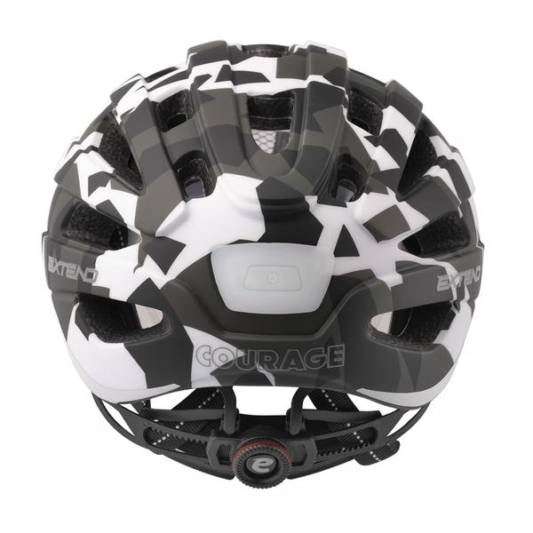 Prilba Extend COURAGE, S/M (51-55cm), camouflage black