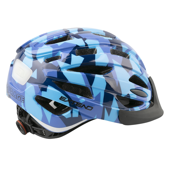 Prilba Extend COURAGE, S/M (51-55cm), camouflage blue