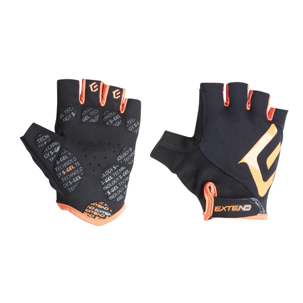 Rukavice pánske Extend GRISP black-orange XS
