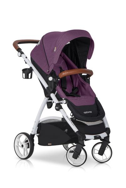 Športový kočík EASY GO Purple + taška