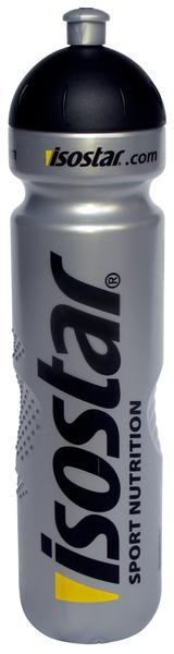 Cyklistická fľaša ISOSTAR strieborná 1000ml