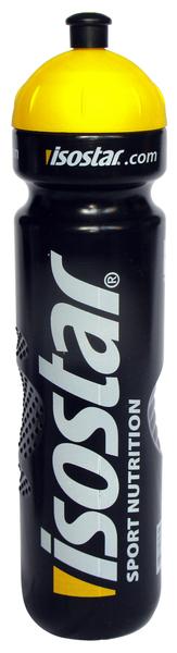 Cyklistická fľaša ISOSTAR čierna 1000ml