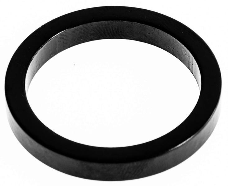 """Podložka pod predstavec duralová, 1-1/8"""" x 5mm, čierna"""