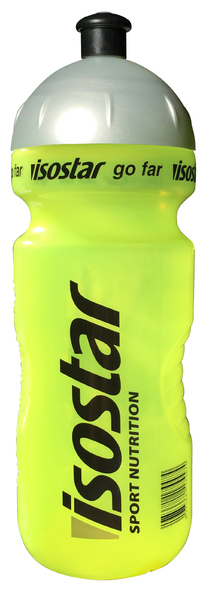 Cyklistická fľaša ISOSTAR žltá fluorescent 650ml