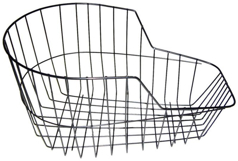 Košík zadný na nosič - okrúhly