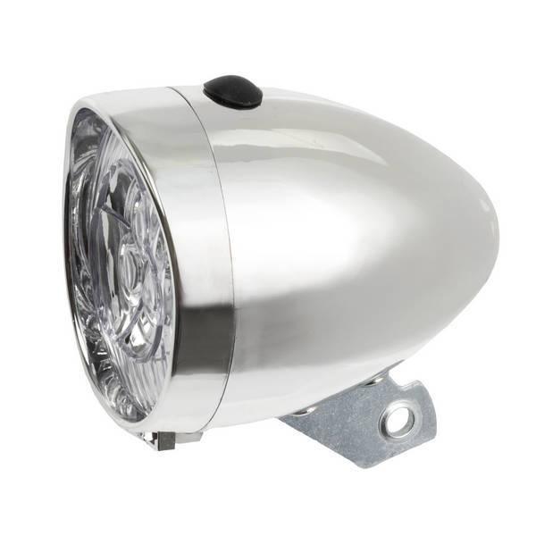 Svetlo predné 3 LED chrómové (nebalené)