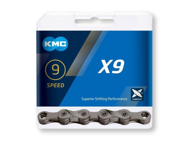 Reťaz KMC X9 (9-speed) 114 článkov
