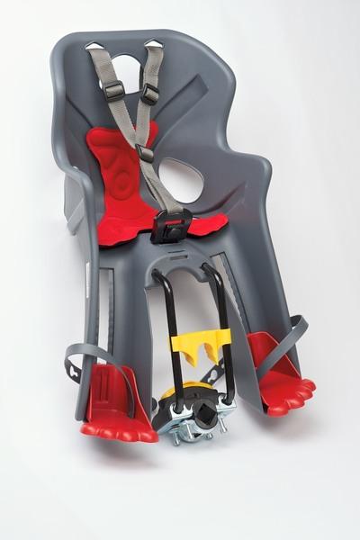 Detská sedačka BELLELLI predná Rabbit Multifix šedá